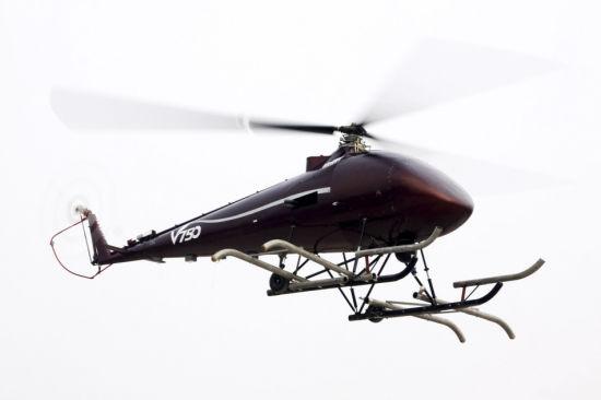 中国最大无人直升机V750首飞成功
