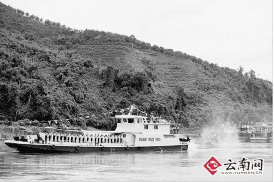 缅甸巡逻艇