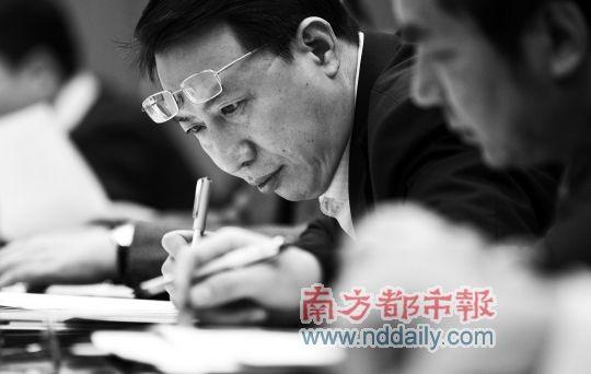 3月2日下午,公推比选外经贸厅厅长入选者到东莞调研转型升级。 记者陈奕启摄