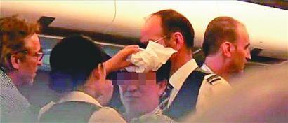 """中国乘客斗殴""""逼返""""瑞航航班"""