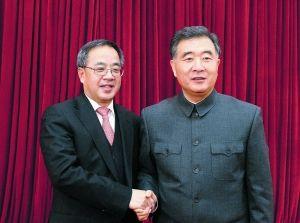 胡春华兼任广东省委书记 汪洋中山装出席