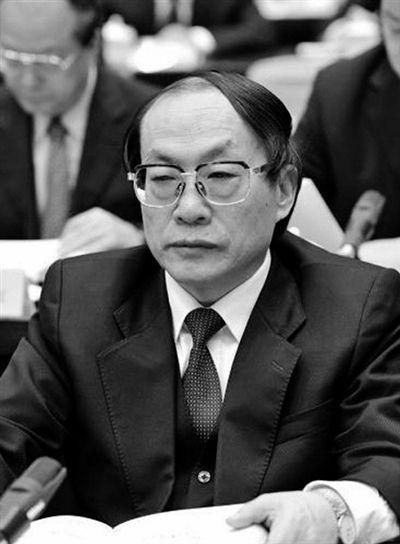 原铁道部长刘志军。资料图片