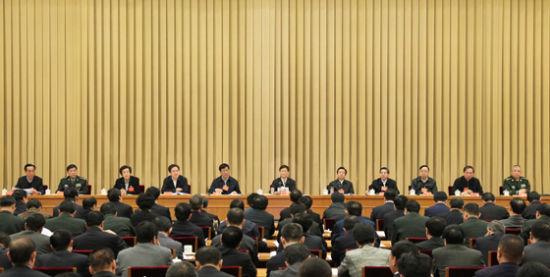 1月7日,全国政法工作电视电话会议召开。中共中央政治局委员、国务委员、中央政法委书记孟建柱出席会议并讲话。