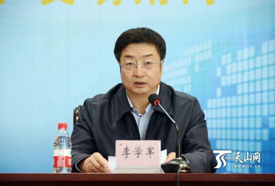 自治区党委常委,宣传部长李学军新疆互联网行业自律公约签约仪式上