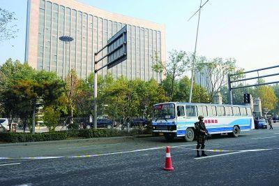 山西省委附近连续发生爆炸