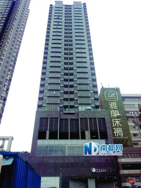 王林豪宅位于九龙油塘,毗邻景区,远眺维港,是香港豪宅。南都记者 康殷 摄
