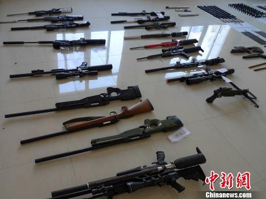 浙警方摧毁跨省制售枪支团伙零件可装备1个连