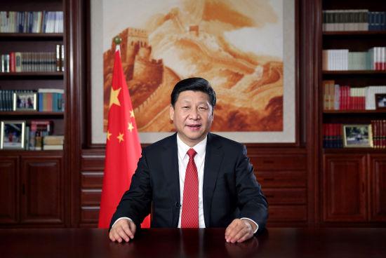 国家主席习近平发表2014年新年贺词