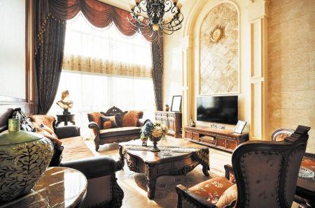 欧式家具 客厅 整装