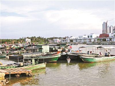 潭门渔港码头