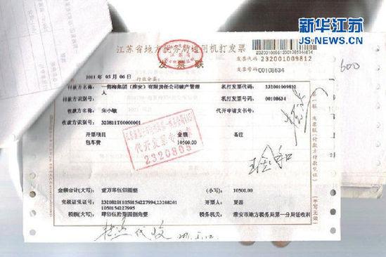 车牌为HK6330的上海大众轿车以租赁方式从一剪梅破产管理人处获取10500元租金。
