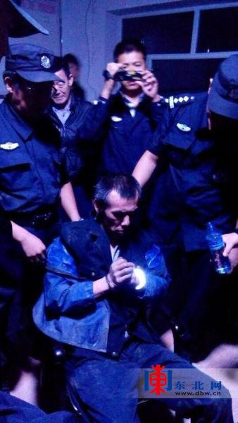 嫌犯王大民被抓获。
