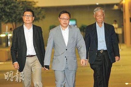 资料图:从左到右:陈健民、戴耀廷、朱耀明.