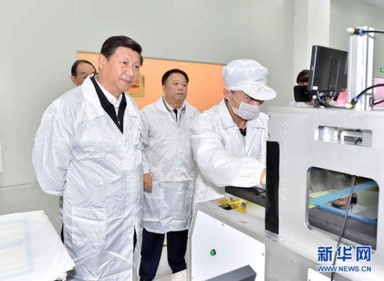 11月1日至2日,习近平在福建调研。新华社记者 李涛 摄