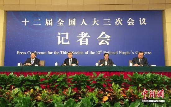 3月8日10时在梅地亚中心多功能厅举行记者会,外交部部长王毅就中国的外交政策和对外关系相关问题回答中外记者提问。 中新社记者 廖攀摄