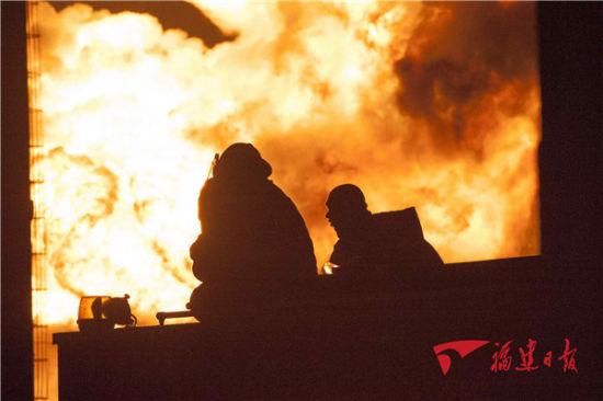 古雷px爆炸现场。图片来源:福建日报