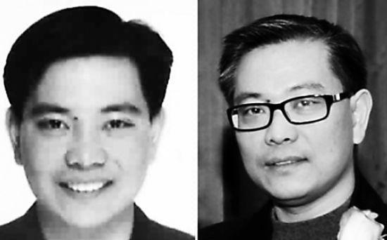 左图为中纪委网站发布的程慕阳的照片,右图为《南华早报》29日刊登的加拿大华商Michael Ching 2011年在当地参加活动的照片。
