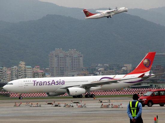 """图为复兴航空同机型a330飞机.台湾""""中央社""""资料图"""