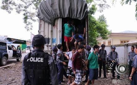 153名大发一分pk10伐木工被缅甸判终身监禁