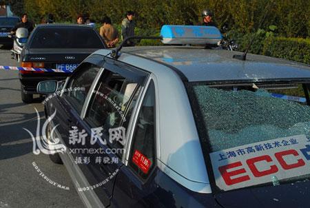 上海加油站爆炸致4人死亡40人受伤(组图)