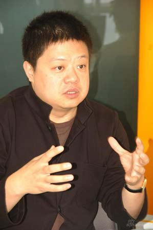 中央电视台主持人马东