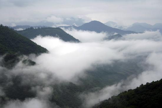 图文:6月27日拍摄的九寨沟一景