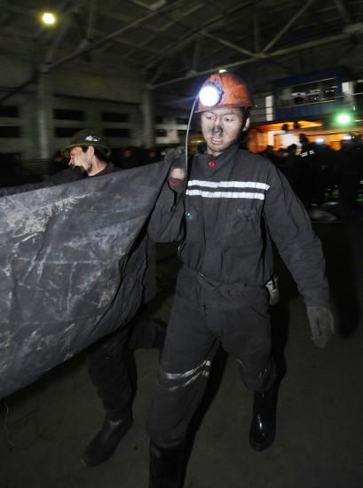 图文:山西屯兰煤矿发生瓦斯爆炸事故