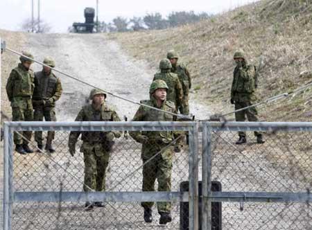 图文:日本未拦截朝鲜发射物