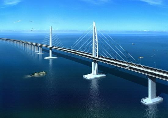 大桥 桥 桥梁 550_386