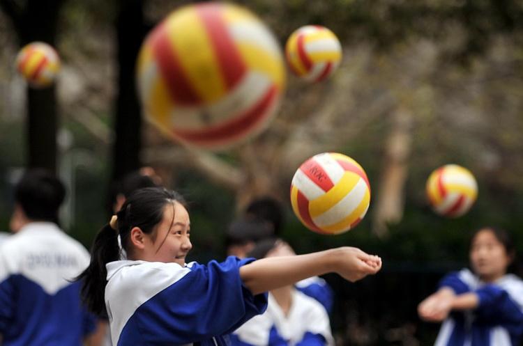 初中:政治垫球毕业长沙初中成为体育v初中论文格式图文项目排球图片