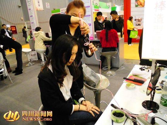 台湾美妆进军成都8分钟diy美发吸引蓉城美女图