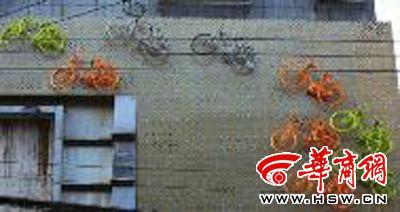 五线谱上的自行车(图)