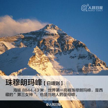 珠峰就在日喀则的南部