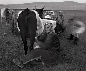 摄影师20万张照片为游牧蒙古人留影