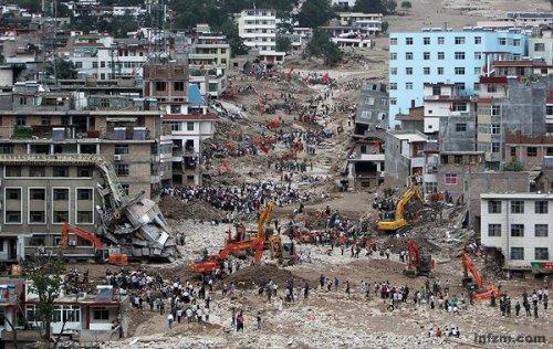 地震重建给舟曲带来防治资金