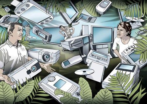 分析称网络信息进入碎片化时代:微博等成纽带