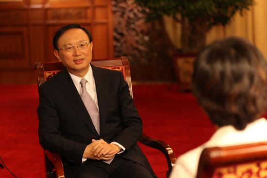 外交部部长杨洁篪。