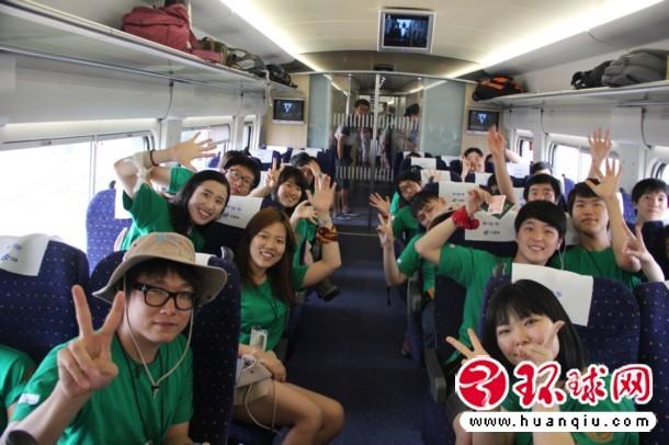 韩使者团惊叹中国高铁发展迅速 比韩国高铁更