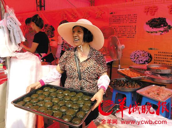 珠海斗门美食节昨日揭幕150余摊位展现各地美食