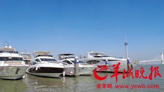 珠海造游艇12年尚无游艇码头批地难等原因制约