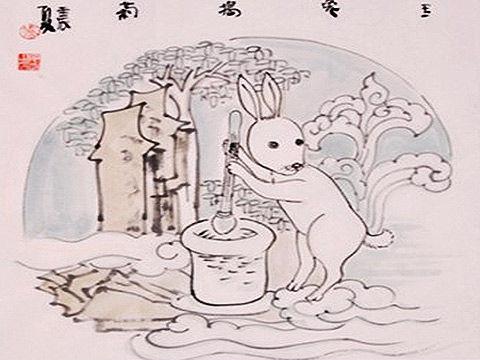 玉兔的简笔画步骤