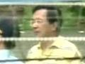 陈水扁一审被判无期后放风画面首次曝光
