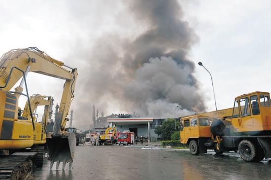 广西宜州化工厂发生爆炸16人死亡