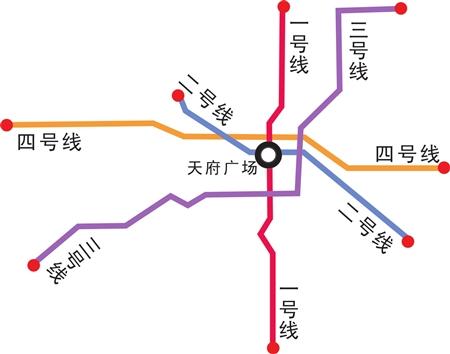 成都地铁4号线今年启动建设