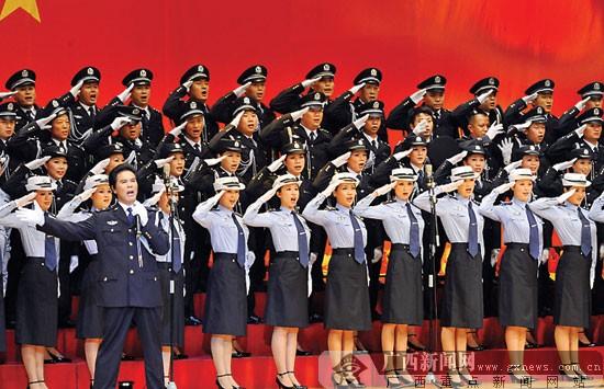 区直机关举行庆新中国成立六十周年歌咏大赛