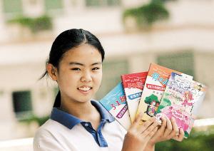 16岁女孩出版4本小说
