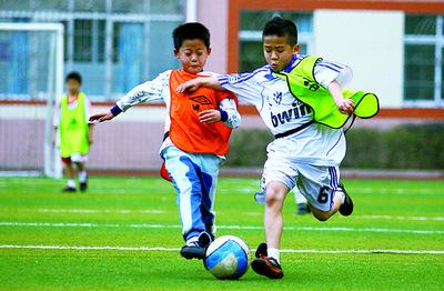 小学生足球场手工制作图片