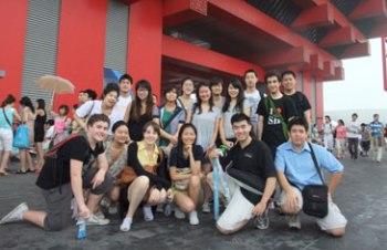 澳洲新南威尔士大学孔子学院游学团结束中国之旅