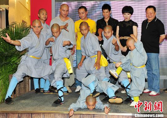 谢苗,曹骏等众多实力派演员加盟的功夫电视剧《少林寺传奇3大漠英豪》图片