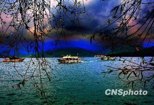 新疆天池风景区导览图